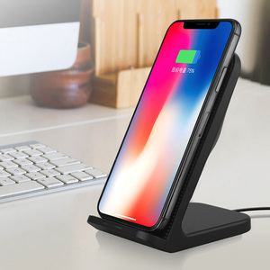 Image 5 - FDGAO Fast Qi Wireless Charger Quick Charge 3.0 USB 10W Fast Charging Stand with Cooling Fan for iPhone XR XS X 8 Samsung S10 S9