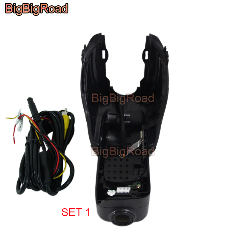 BigBigRoad For volvo XC60 2009 2010 2011 2012 2013 2014 2015 2016 2017 Car Video Recorder Car Wifi DVR Dash Cam Dual CamerasBigBigRoad For volvo XC60 2009 2010 2011 2012 2013 2014 2015 2016 2017 Car Video Recorder Car Wifi DVR Dash Cam Dual Cameras