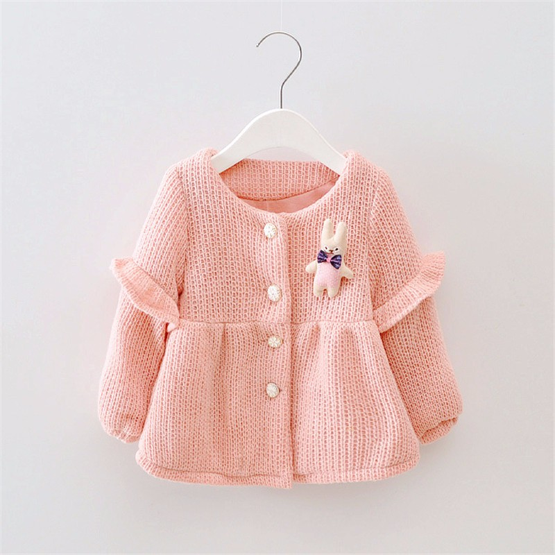 48796ea08 Girl Winter Sweater Children Cardigans Girls Baby Girl Sweaters ...