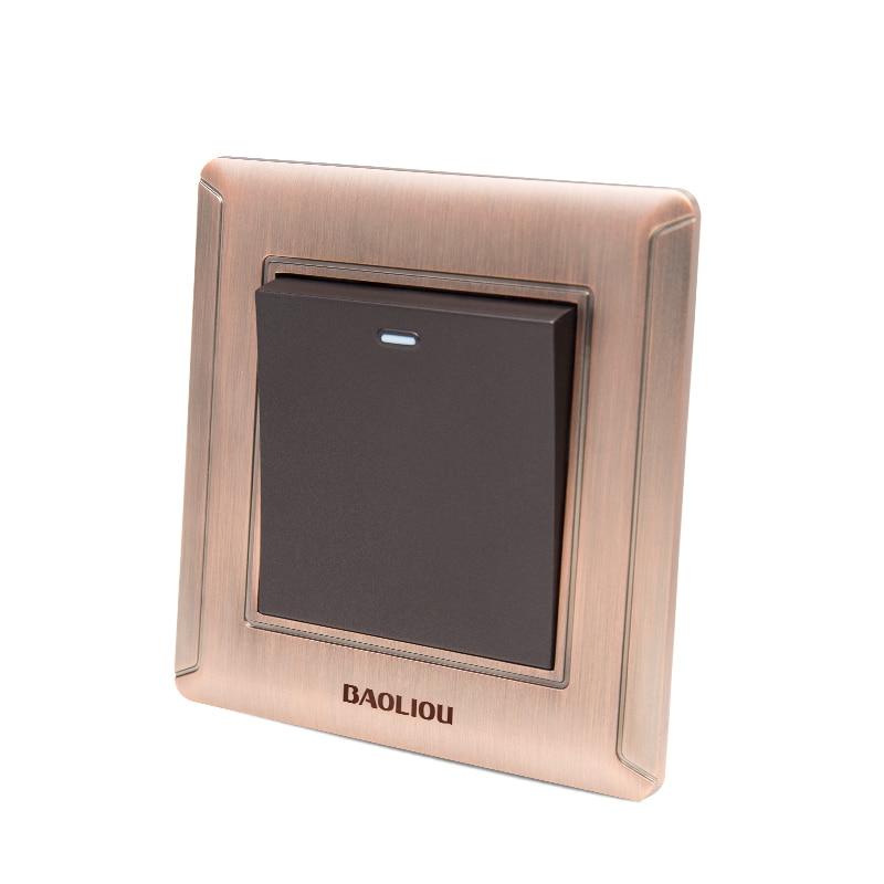 UK Standard Luxury Crystal Switch Panel,86*86mm wall switch,110~250V push button switch 1 gang 2 way light Switch