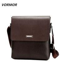 VORMOR 2016 Promotion Designers Brand Men S Messenger Bags PU Leather Vintage Mens Shoulder Bag Man