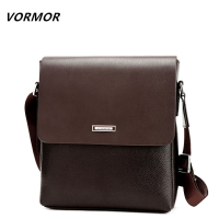 VORMOR 2016 Promotion Designers Brand Men S Messenger Bags PU Leather Vintage Mens Shoulder Bag Man