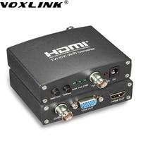 VOXLINK 1080P 720P HD AHD Video Audio Converter AHD TVI CVI To HDMI VGA CVBS With