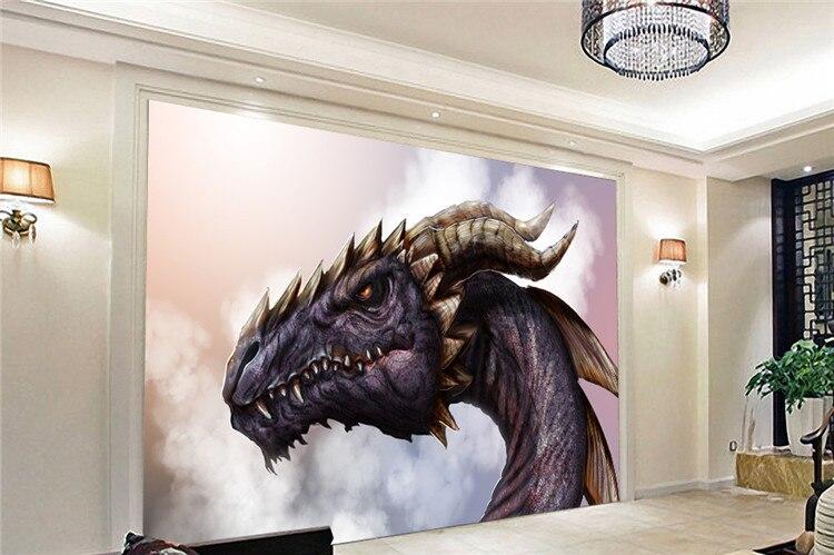 Buy Fantasy Dragon Photo Wallpaper Custom Large Wallpaper Mural Modern Art Room  Decor Bedroom Living Room Sofa Tv Backdrop Wall From