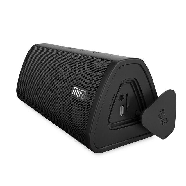 Alto falante portátil mifa a10, wireless, som estéreo, sistema de 10w, mp3, áudio aux com microfone para música iphone do android, iphone