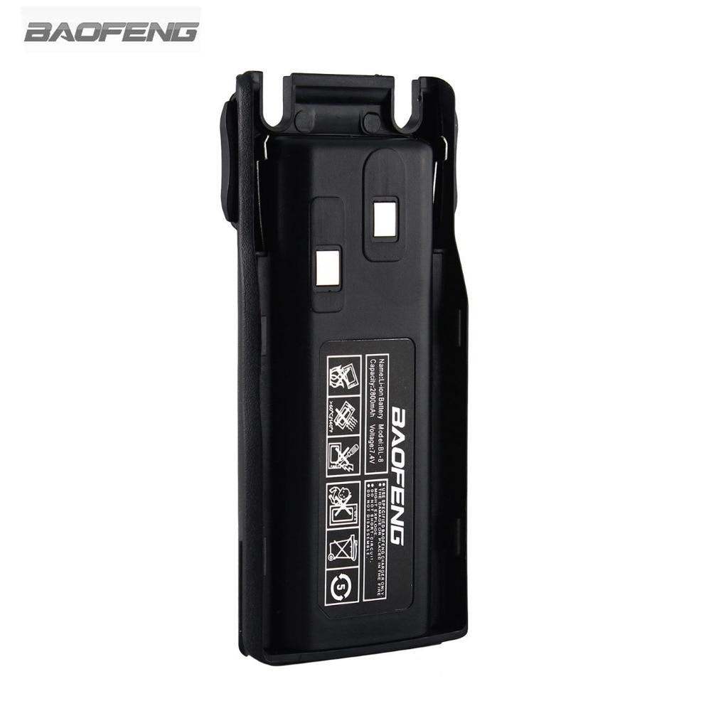 New Baofeng BL-8 2800mAh 7.4V Li-ion Battery For UV-82 UV-8D UV-89 UV-8 Two Way Radio Transceiver RU US