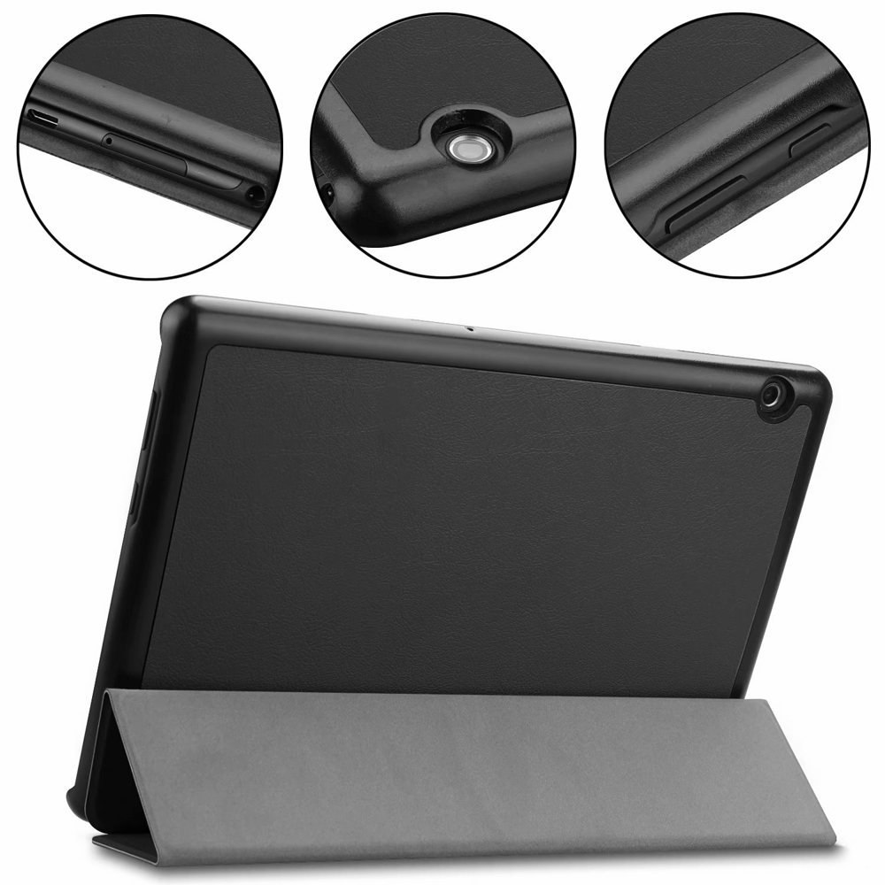 Luxury Ultra Thin Slim Lightweight Folio Stand Magnetic Leather Case Cover For Huawei Mediapad T5 10 AGS2-W09/L09/L03/W19 10.1