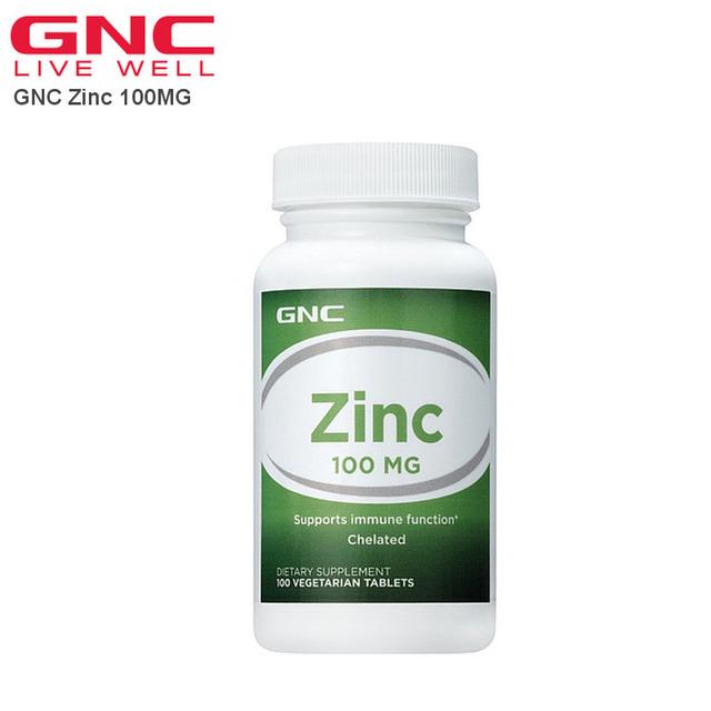 El envío libre de Zinc 100 MG 100 Comprimidos Vegetariana