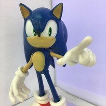 15 cm Sonic the Hedgehog 20th anniversary Commemorative Edition game  PVC Action Figure Toys collectible gifts for boys