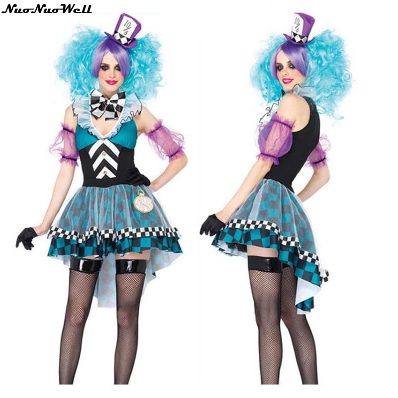 hot sale halloween carnival party magic fairy dress adult female cosplay uniform alice in wonderland maid - Sale Halloween Costumes