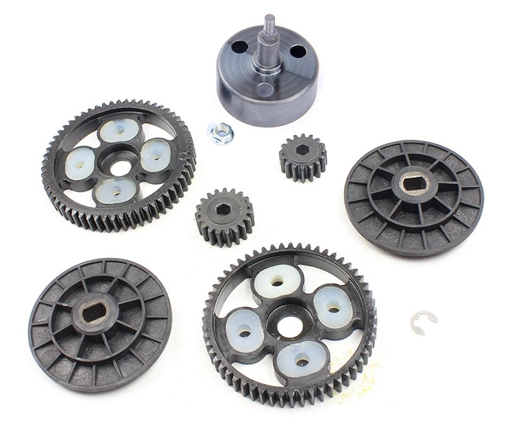 1/5 gas rc baja spare parts 58T/16T and 55T/19T metal upgraded gear set 85105
