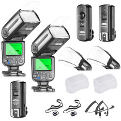 Neewer NW565EX I-TTL Slave Flash Speedlite Kit for Nikon DSLR Camera include:TTL Flash+2.4G Wireless Trigger+Soft&Hard Diffuser