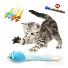 Hračka pre mačku MYŠ s kocúrnikom 4colors