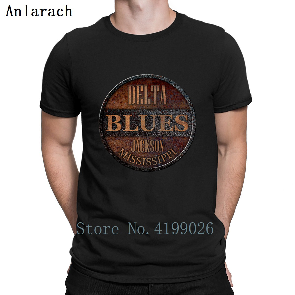 Rusty Deltar Blues Jackson T Shirt New Fashion Leisure Crazy Character T Shirts Clever Hip Hop Size S-3xl Tee Shirt Sunlight