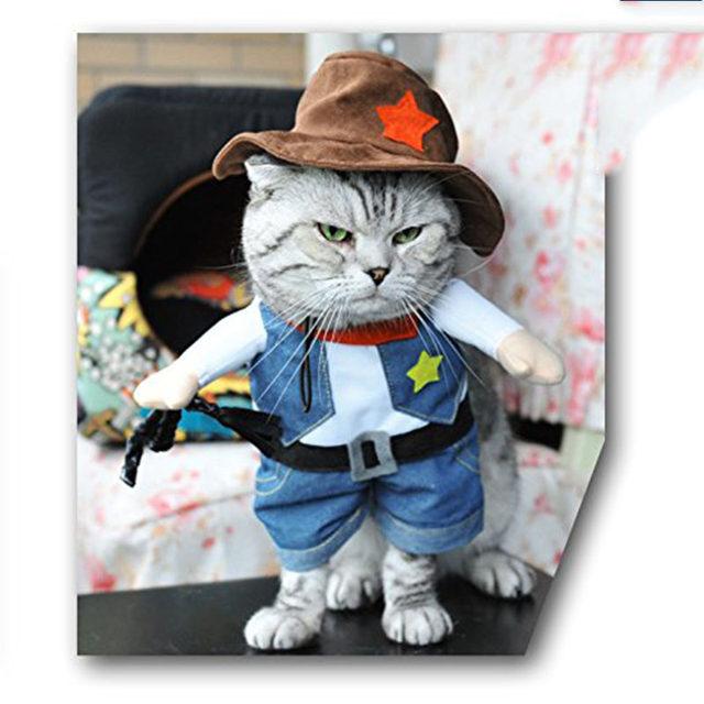 online shop pet dog cat halloween costumes dog west cowboy uniform suit puppy clothes for christmas party special events pet outfit s m l xl aliexpress