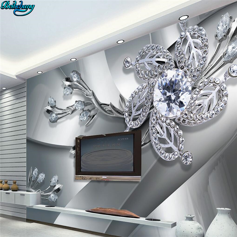 Beibehang Large Custom Wall Paper Cool Metal Texture