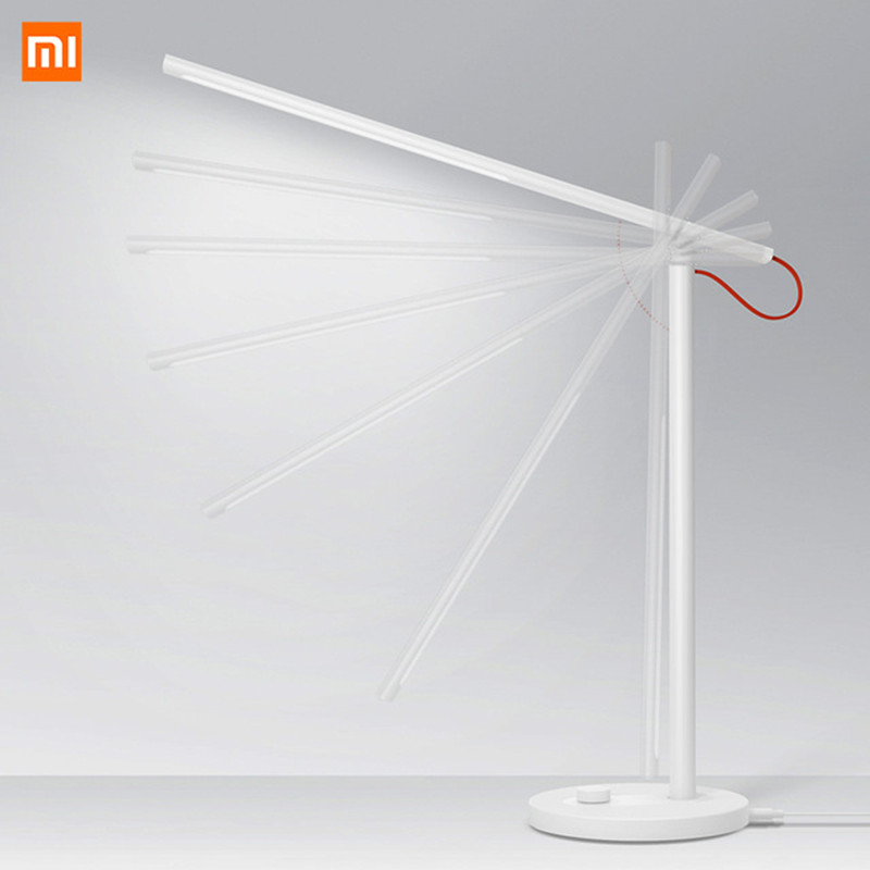 Original Xiaomi Mijia Mi Smart LED Desk Lamp Table Lamp Dimming Reading Light WiFi Enabled Work