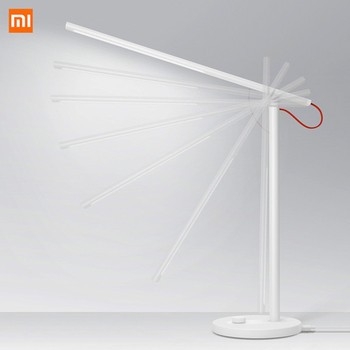 Original Xiaomi Mijia Mi Smart LED Desk Lamp Table Lamp Dimming Reading Light WiFi Enabled Work with AMZ Alexa IFTTT