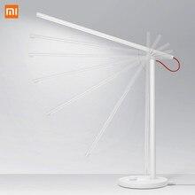 Oryginalny Xiao mi mi jia mi inteligentna lampa biurkowa led lampa stołowa Dim mi ng lampka do czytania WiFi włączona praca z AMZ Alexa IFTTT