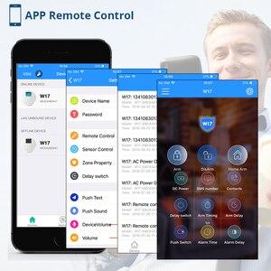 Image 4 - Nieuwe Corina W17 Nl Ru Es De Het Fr Schakelbare Gsm Wifi Alarmsysteem Voor Thuis Alarmsysteem Kit met Android Ios App Controle