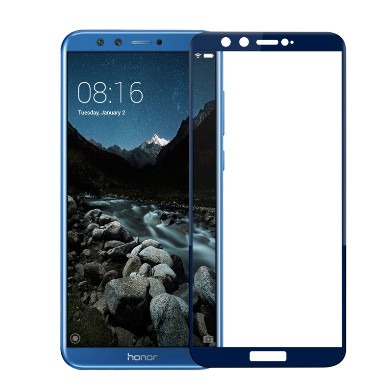 Image 5 - honor 9 lite protective glass on honor 9 lite for huawei honor 9lite 9 10 light honor9 screen protector safety tempered film 3D-in Phone Screen Protectors from Cellphones & Telecommunications