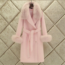 Female Warm Fur Coat