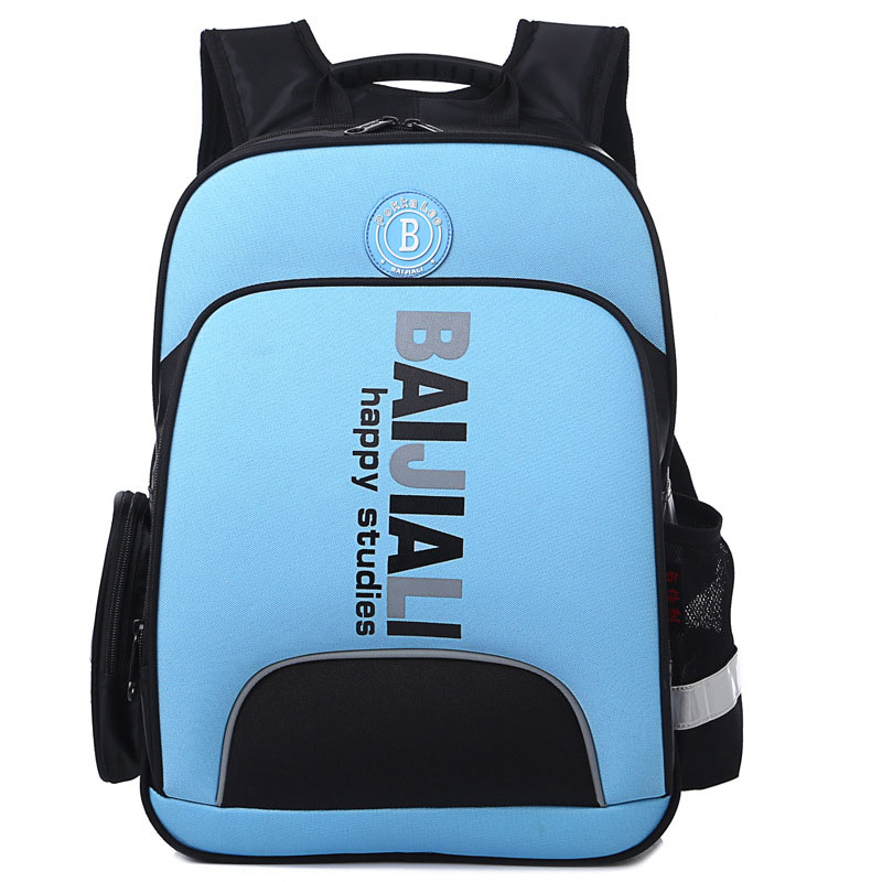 2018 New 2-6 Grade Orthopedic Breathable Schoolbag Book School Bags Children Backpack Fo ...