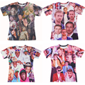Justin Bieber 3D T-Shirt Tyler el creador Paparazzi camiseta Ryan Gosling Daryl Dixon the Walking Dead camisetas mujeres Men