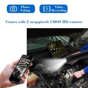 Image 5 - WIFI אנדוסקופ מצלמה HD 1200 P מיני עמיד למים רך כבל 2.0 מגה פיקסל פיקוח מצלמה 8mm 6LED 1 M/ 2 M/3 M/4 M/5 M USB אנדוסקופ