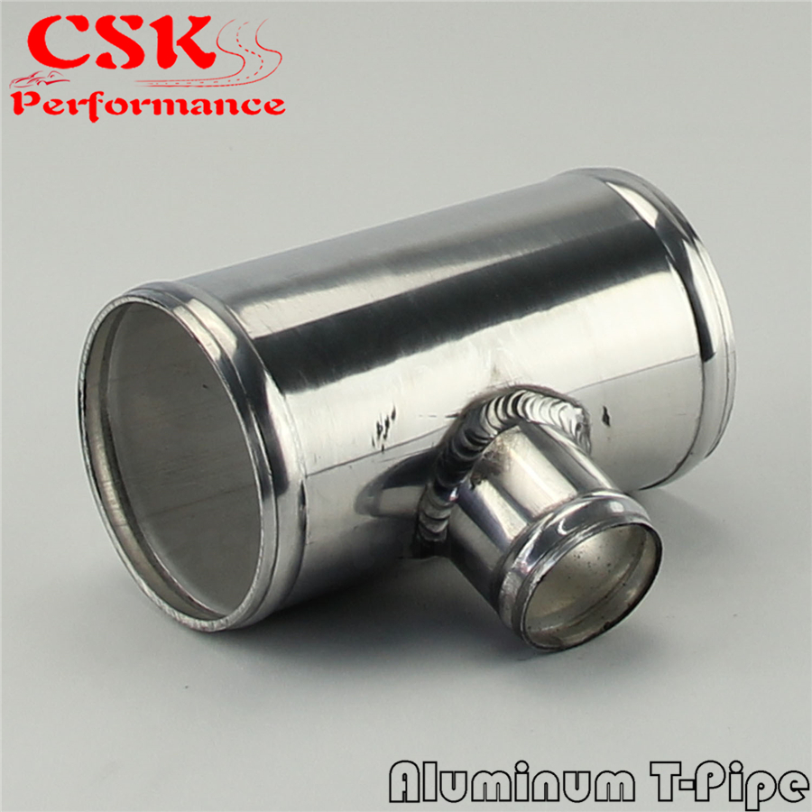 EPMAN 2.75 to 2.75 Aluminum Pipe 70mm To 70mm T Shape Tube Pipe for 25mm OD BOV