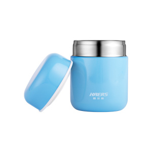 Image 2 - Haers Candy Color Food Soup Thermos BPA free  Stainless Steel Vacuum Thermos Lunch Box for Kids 280ml 400ml
