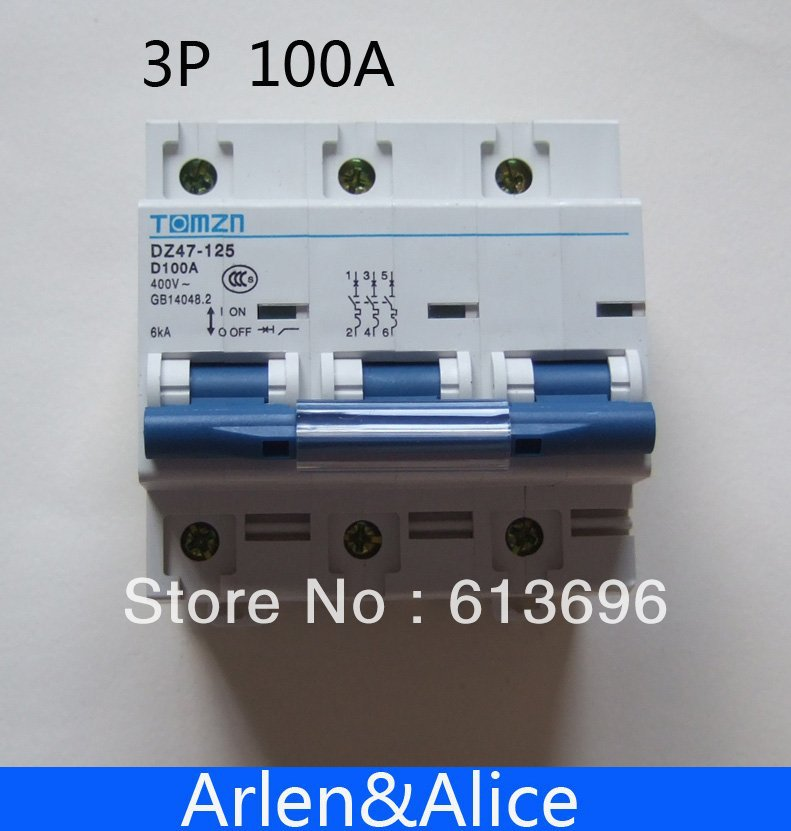 60hz Mcb With Over Voltage And Under Voltage Protection Mini Circuit