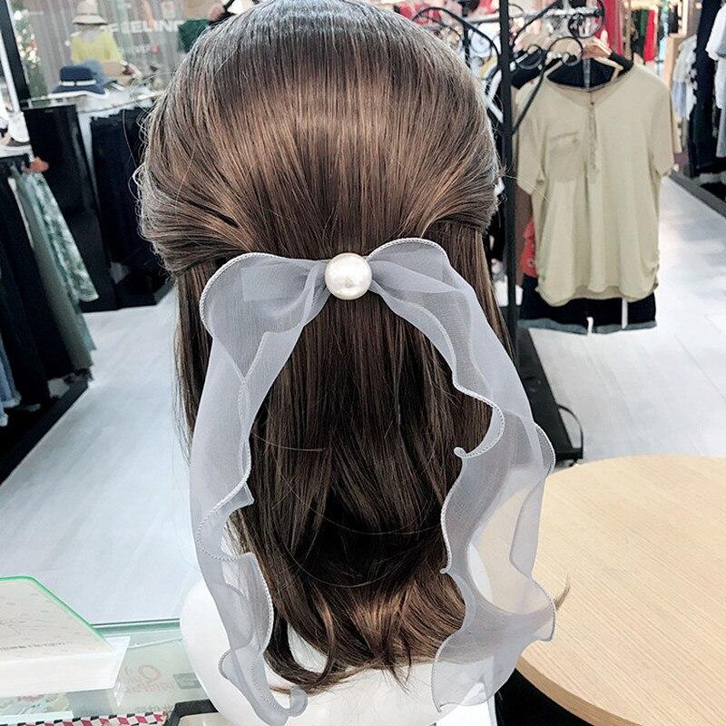 2018 korean women ponytail holder