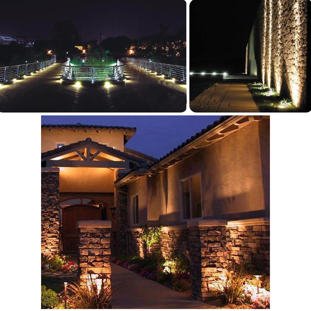 Outdoor Lamps Us 7 83 45 Off 5w Cob Lawn Lamp Outdoor Yard Lawn Lamp Ip65 Led Landscape Garden Spot Light Warm White White Rgb Ac12v In Led Lawn Lamps From
