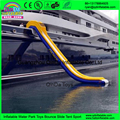 Giant Inflatable Yacht Slide for Yacht Ocean Toys Inflatable Water Slide For Boat