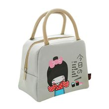 Cartoon Cute Thermal Cooler Insulated Lunch Box Portable Tote Storage Picnic Bag