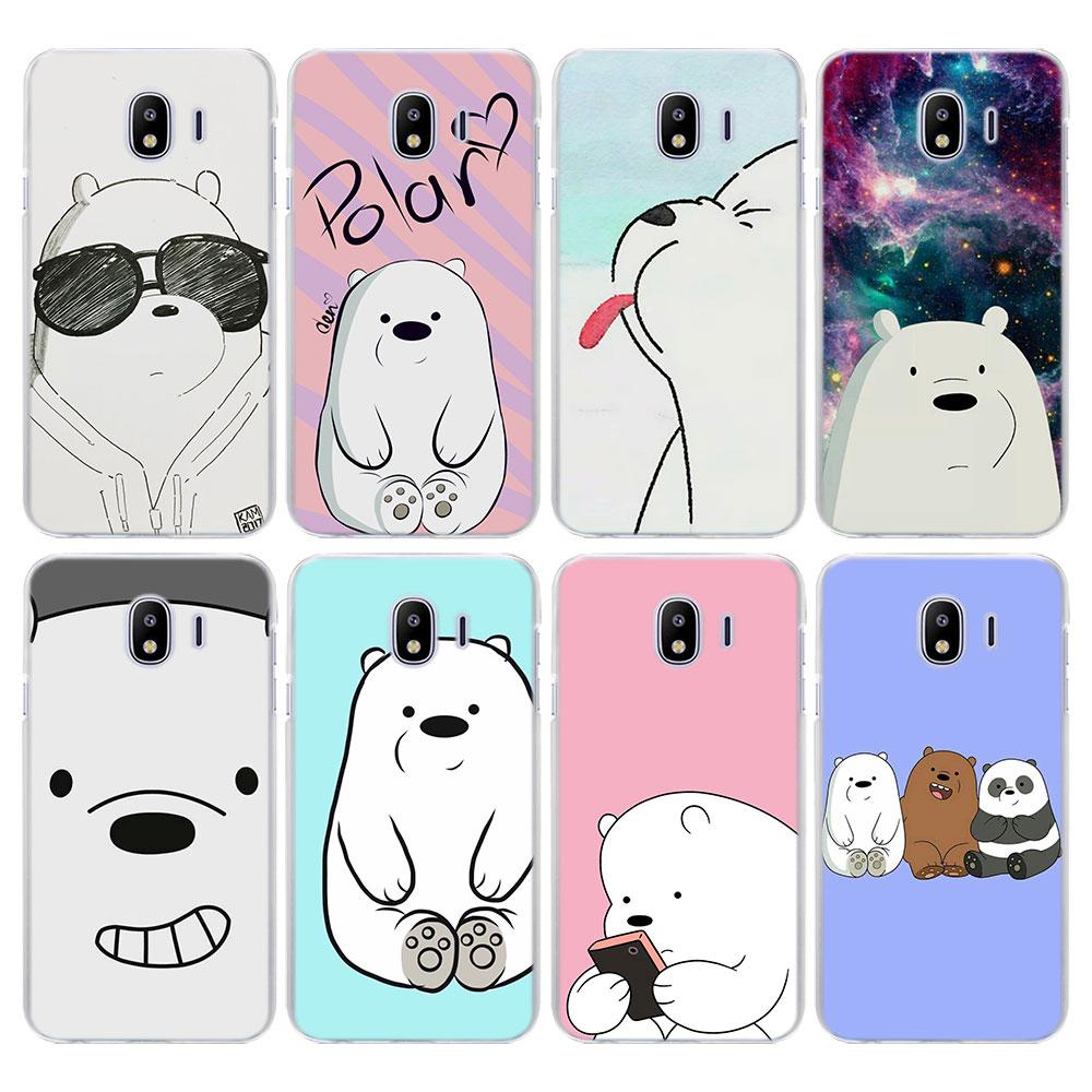 cartoon we bare bears ice bear Case Cover for Samsung Galaxy J3 J4 Plus J6 J6 Pl