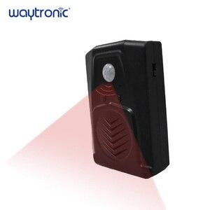 Image 1 - ワイヤレス pir モーションセンサー検出器活性化ハロウィンサウンドスピーカー小型悲鳴ボックスセキュリティ警報システムモール