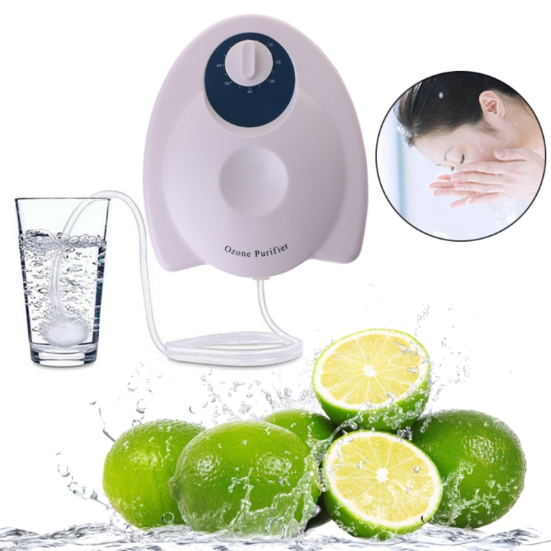 SKYMEN Air Water Purifier Disinfector Ozone O3 Generator Function Sterilizer Machin Home Vegetables Washer EU/US Plug new household ozone generator air purifier portable air ozone disinfector for fruits vegetables sterilization with eu us plug