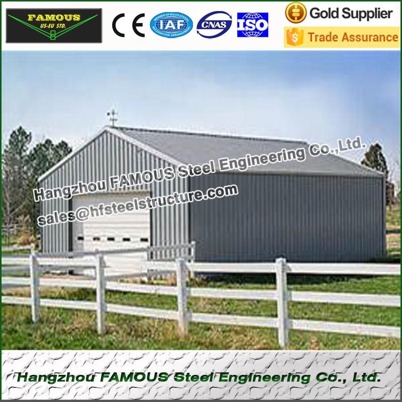 Baustahl gerahmte schuppen und garage made in China in Baustahl ...