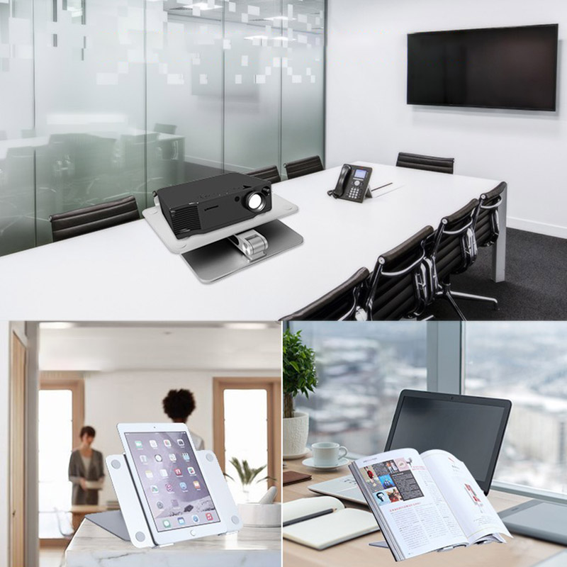Universal Aluminum Alloy Laptop Holder Stand Foldable Adjustable Rack for Notebook Tablet GY88