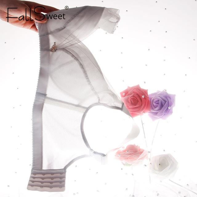 FallSweet soutien-gorge coupe fine sans doublure grande taille femmes brassière confort sans fil Lingerie de sommeil