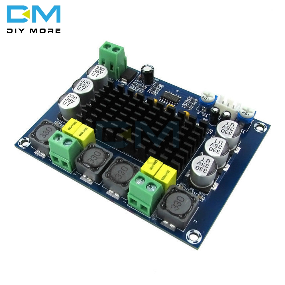 TPA3116 TPA3116D2 XH-M543 Dual Channel Stereo High Power Digital Audio Power Amplifier Module 120W+120W Amplificador DIY Board