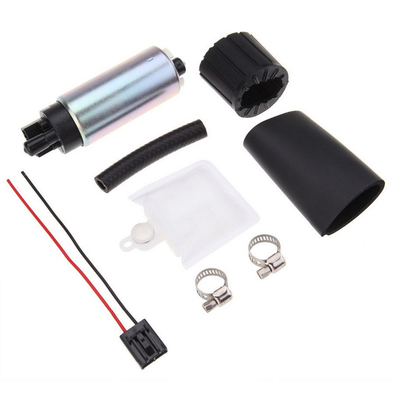Intank Fuel Pump W// Free Installation Kit For Gss342 Fuel Pump 255lph Power Flow