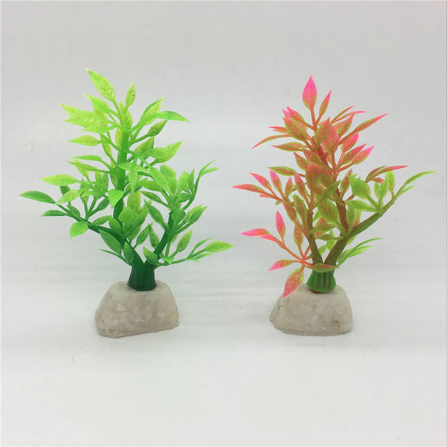 10PCS Mini Colourful Trees Plastic Leaves Home School Teaching Decoration Sand Table Model Decor Artificial Tree Tidy Plant