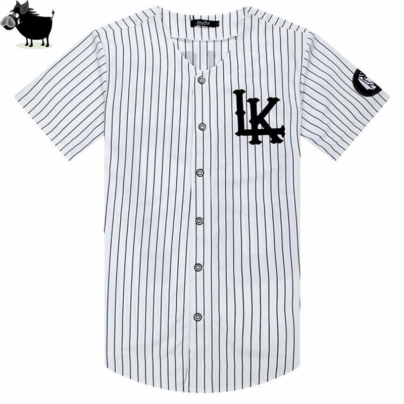 e54ea37c Man Si Tun New 07 Last Kings baseball tshirt tyga jerseys black white unsex  Men Women
