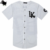 High Quality KNYEW 07 DXPECHEF 99 Baseball T Shirt Jersey Last King LK Hip Hop Men