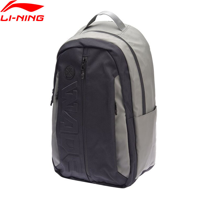 Sports & Entertainment Sports Bags Temperate Li-ning Unisex Wade Lifestyle Backpack Leisure Polyester Lining Men & Women Travel Sport 13 Inch Laptop Bags Absn005 Bbb014