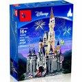 Die Prinzessin Schloss 16008 die Cinderella die 71040 Spielzeug Burg Modell Building Block Bricks DIY Pädagogisches Geburtstag Geschenk