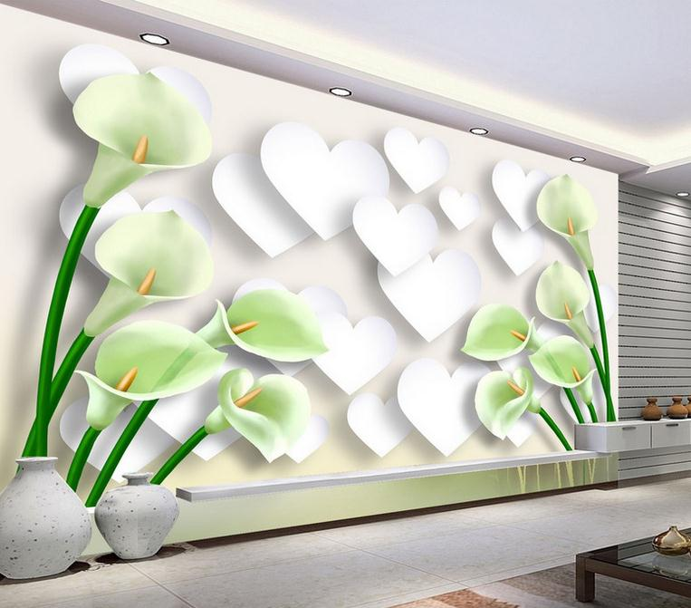 custom 3d effect modern minimalist wallpaper living room bedroom TV background wall mural beautiful flowers and plant wallpaper custom baby wallpaper snow white and the seven dwarfs bedroom for the children s room mural backdrop stereoscopic 3d